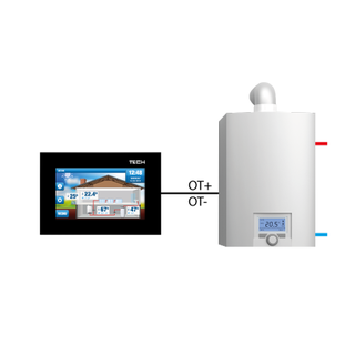 Master DE.438 WIFI OpenTherm Raumthermostat
